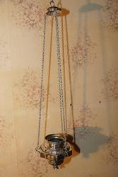 Лампада церковная в стиле Ампир,  серебро «84» пробы. Москва,  1830е гг.
